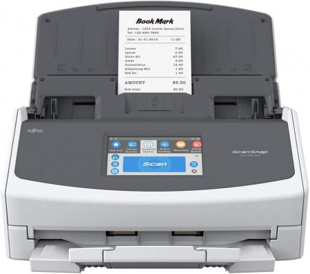 Fujitsu ScanSnap iX1500 ima 4.3 inčni LCD ekran osetljiv na dodir