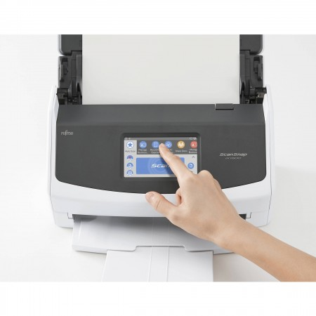 Fujitsu ScanSnap iX1500 je neverovatno brz i lak za upotrebu. Samo otvorite poklopac i ScanSnap je spreman za upotrebu