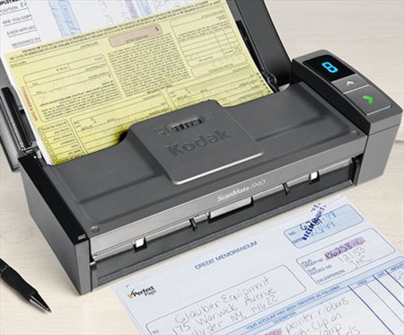 Proces skeniranja dokumenata Kodak i940 ScanMate