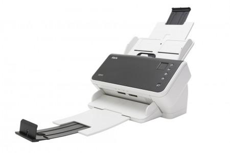 Alaris S2050 U kombinaciji mat sive i bele boje ima moderan izgled, veoma je kompaktan i brz skener