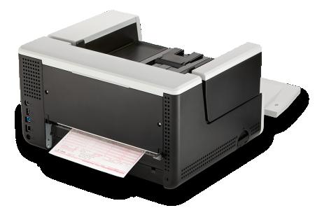 Kodak Alaris S3060f ima brzinu od 60 stranica po minuti i kapacitet ulagača od 300 listova