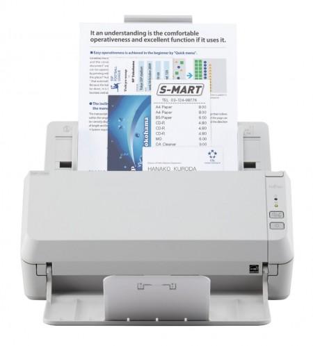Fujitsu SP-1125N ima brzinu od 25 stranica po minuti i kapacitet ulagača od 50 listova.