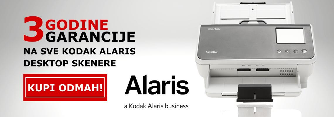 Kodak Alaris 3 Godine garancije baner početna